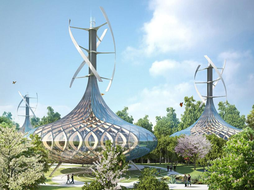 Ecologie : villa Flavours Orchard extérieur
